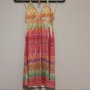 Body central size small halter dress